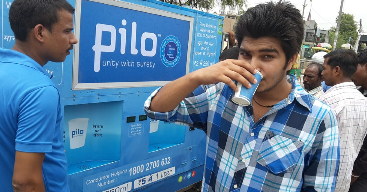 Say Goodbye to Bottled Water – These Water ATMs Dispense RO Water at Just Rs 5 per Litre!