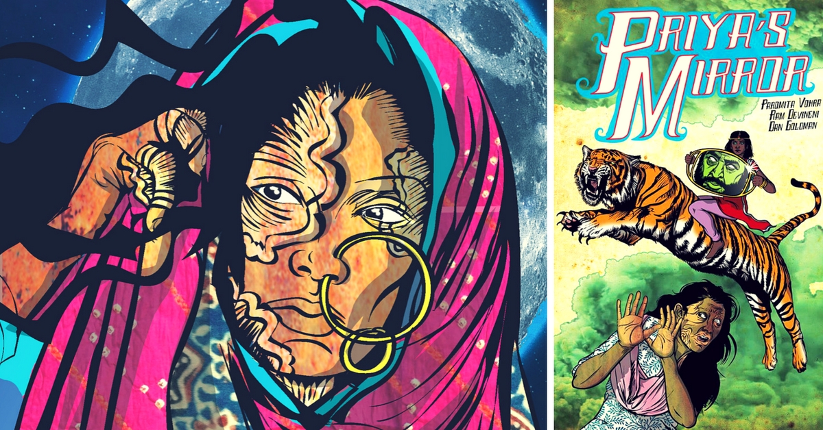 In this Award-Winning Comic Book Series, Rape and Acid Attack Survivors are Heroes, not Victims