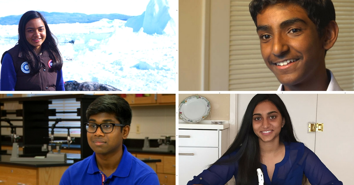 These 5 Indian-Origin Teens Are Among the Most Talented in The World