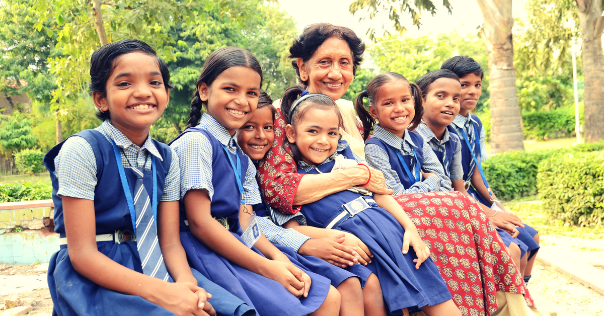 TBI Blogs: This Woman & Her Domestic Help Teach Hundreds of Needy kids in Noida