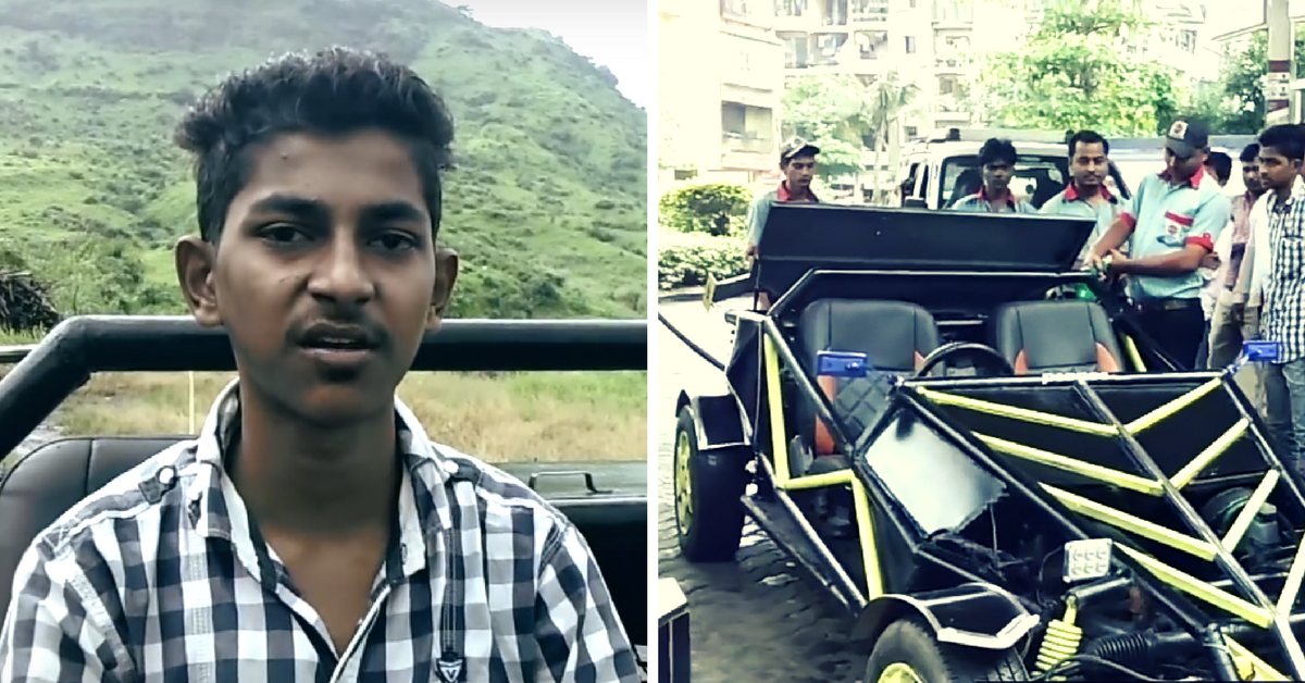 TBI Blogs: An Auto Driver's 19-YO Son Built a Buggy Car From Scratch Using Video Tutorials From the Internet