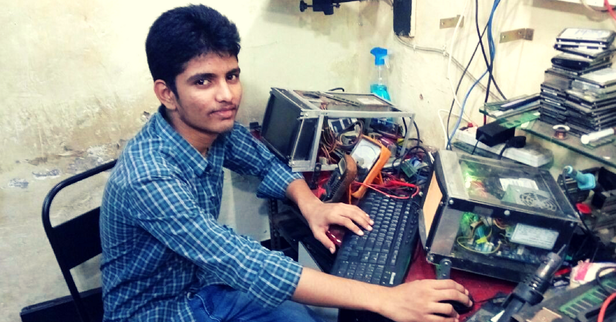 How a 17-Year-Old School Dropout is Making Computers More Affordable by Building Them from E-Waste