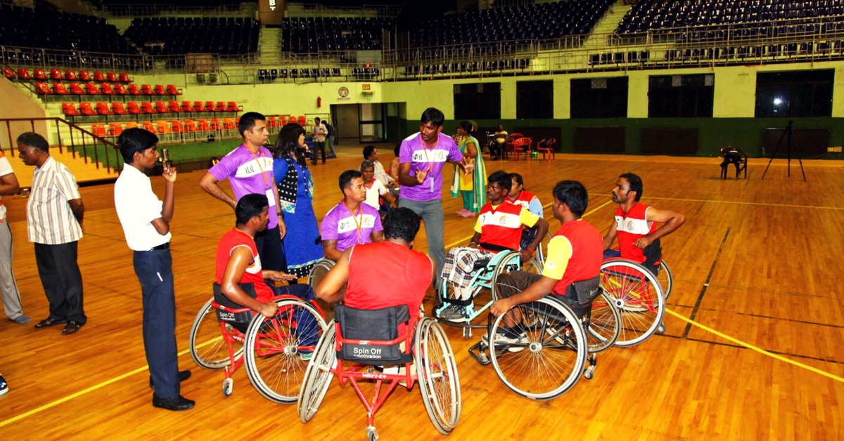 Here's Why Milkha Singh Is Backing the Country's First Wheelchair Basketball Team