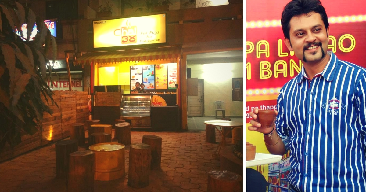 Meet Another Amazing Chaiwala – An Engineer Who Left Australia and Now Sells Tea in Bhopal