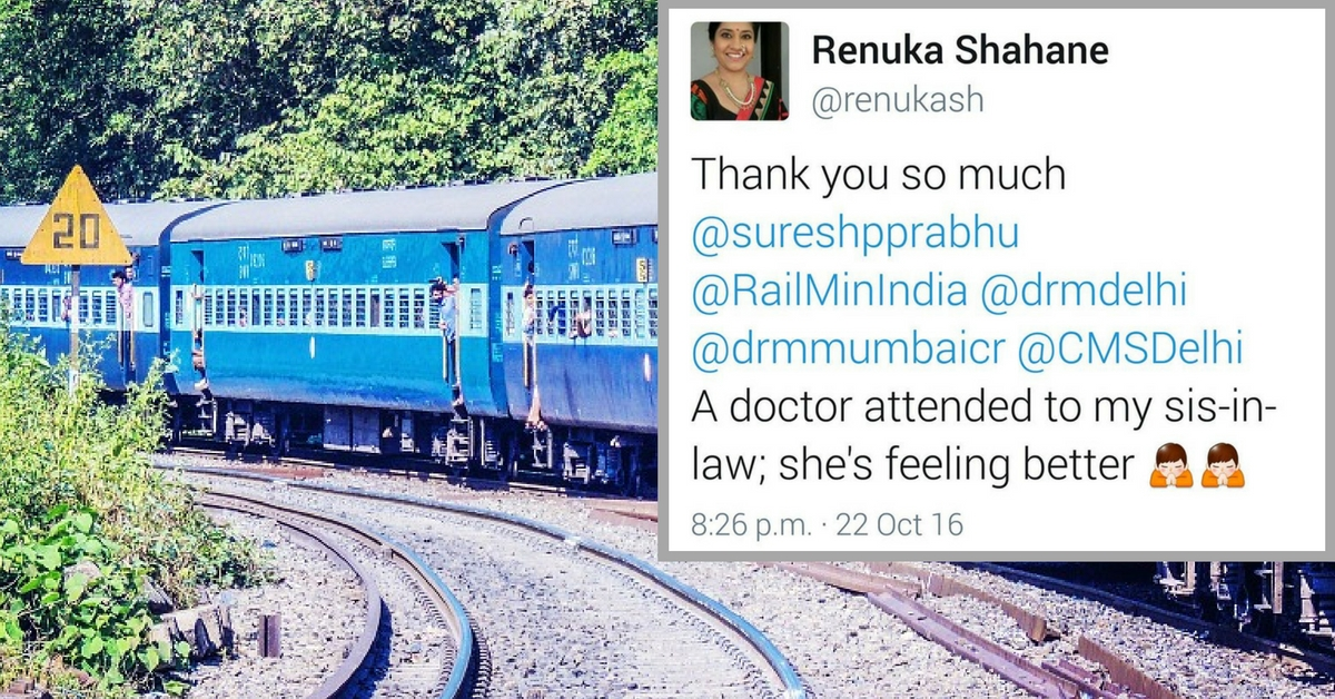 Railway Ministry to the Rescue: How Renuka Shahane's Ailing Relative Got Medical Help after a Tweet