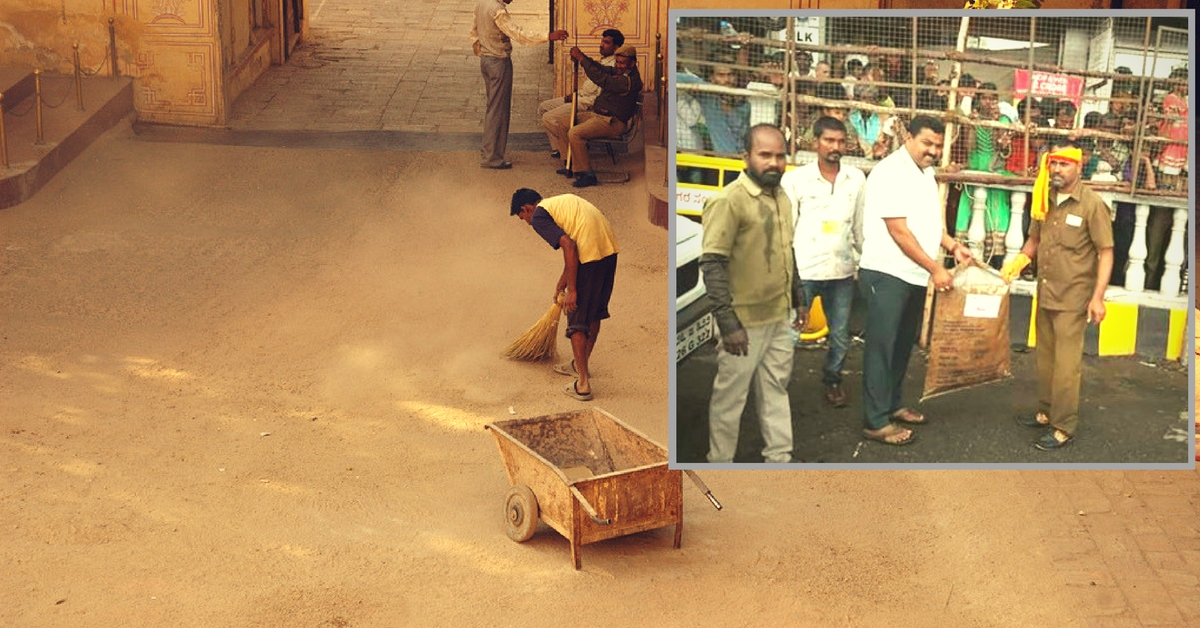 Practising What He Preaches, This Mysuru Corporator Picks up a Broom & Cleans His Ward Every Day