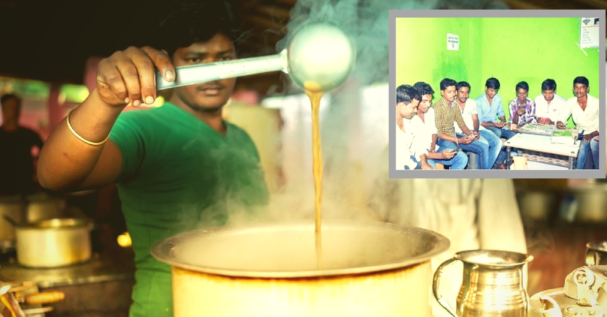 A 'Starbucks' in Rural Karnataka – Tea Seller Offers Free Internet with a Cup of Chai worth Rs 5!