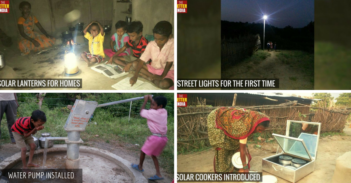 How The Better India Readers Brought Water and Lights to a Village in Just Six Months