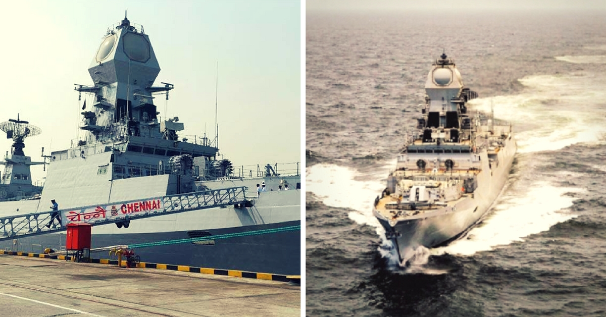 INS Chennai – 10 Things You Must Know about the Largest 'Made-In-India' Warship of the Indian Navy