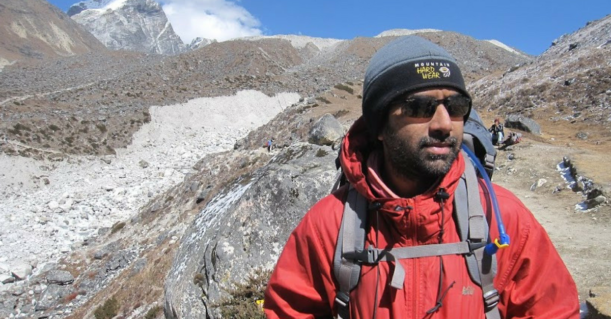 Here's a Man Who Runs Half Marathons and Climbs Mountains with Just One Lung!