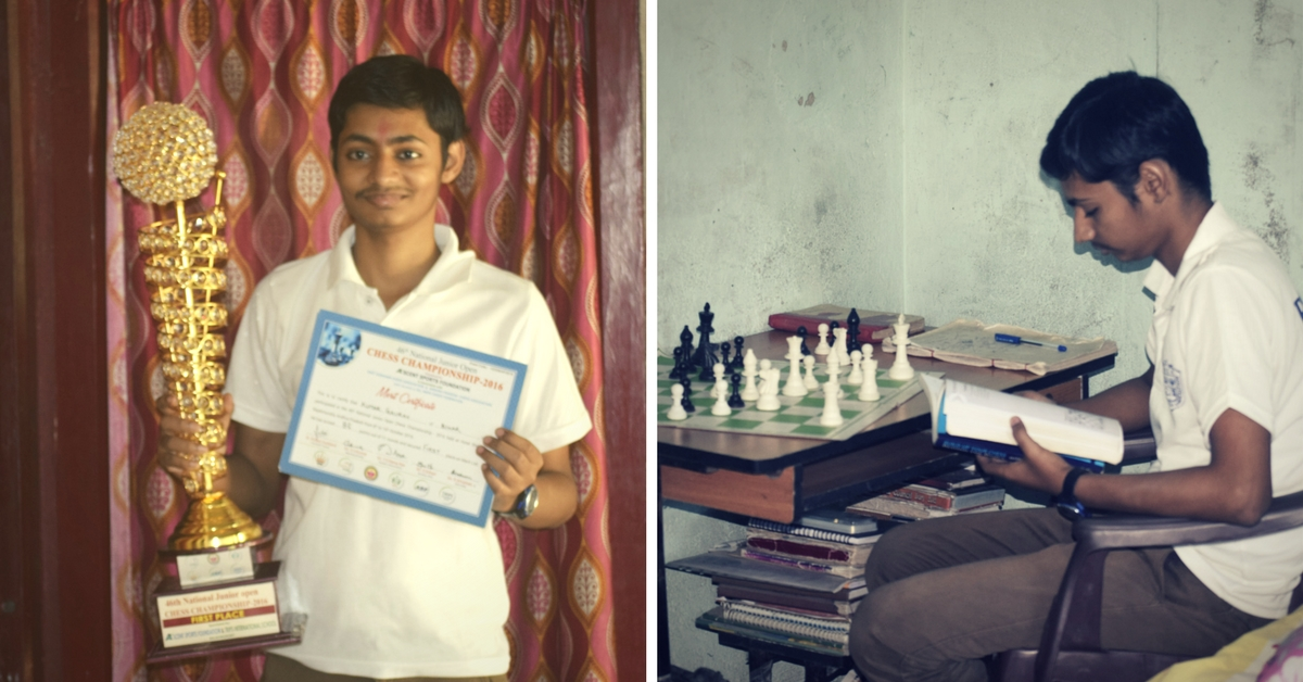 He Mortgaged His House, Learnt Chess over Skype. Now He Might Become India's next Grandmaster!