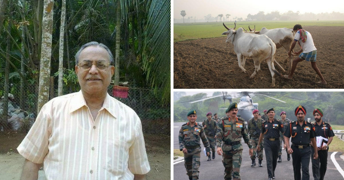 Retired Pune Couple Pledges All Its Wealth for the Welfare of Soldiers and Farmers