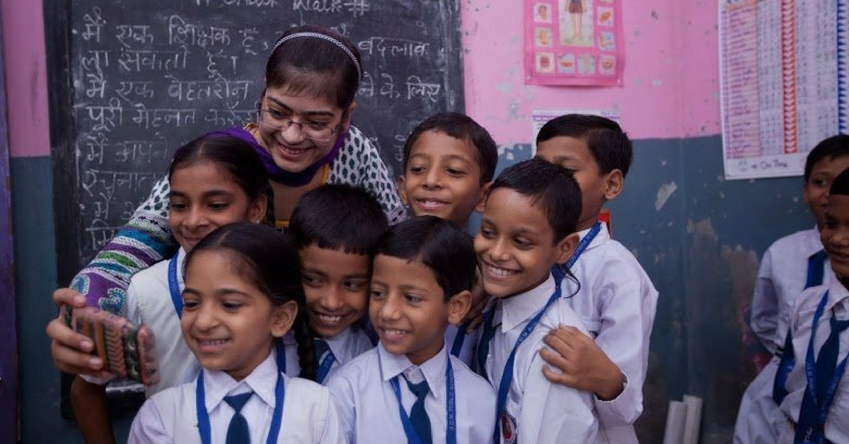 Teachers Are Taking Selfies With Students in Maharashtra Govt Schools. Find Out Why.