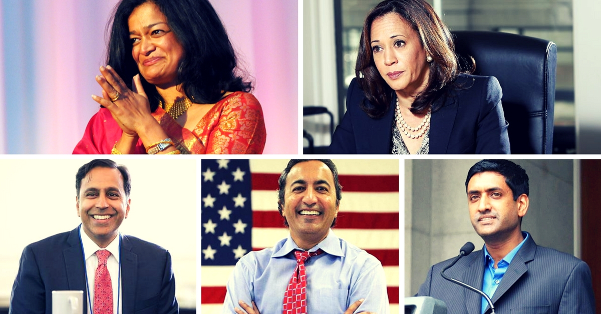 Meet the 5 Indian-Origin Candidates Who Scripted History by Getting Elected to the US Congress