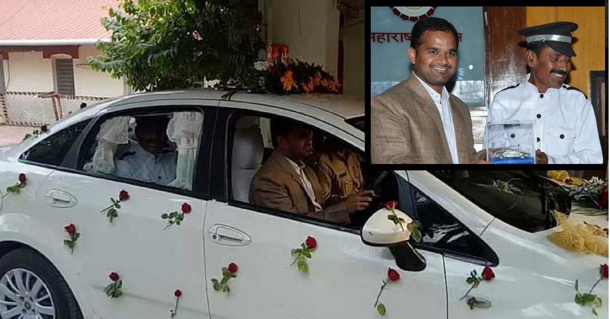 Akola Collector Switches Roles with His Driver on His Last Working Day, Chauffeurs Him to Work