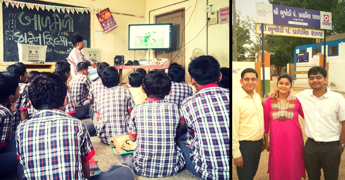 This Duo Converted Boring Textbooks into Fun Videos and Animation for School Kids in Gujarat