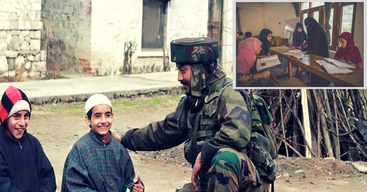"""School Chalo"": Indian Army Calls out to Kashmiri Children, Promotes Education in Time of Unrest"
