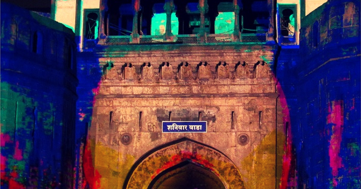 German Video-Mapping Artist Turned Pune's Shaniwarwada into His Canvas This Diwali & It Was Superb!