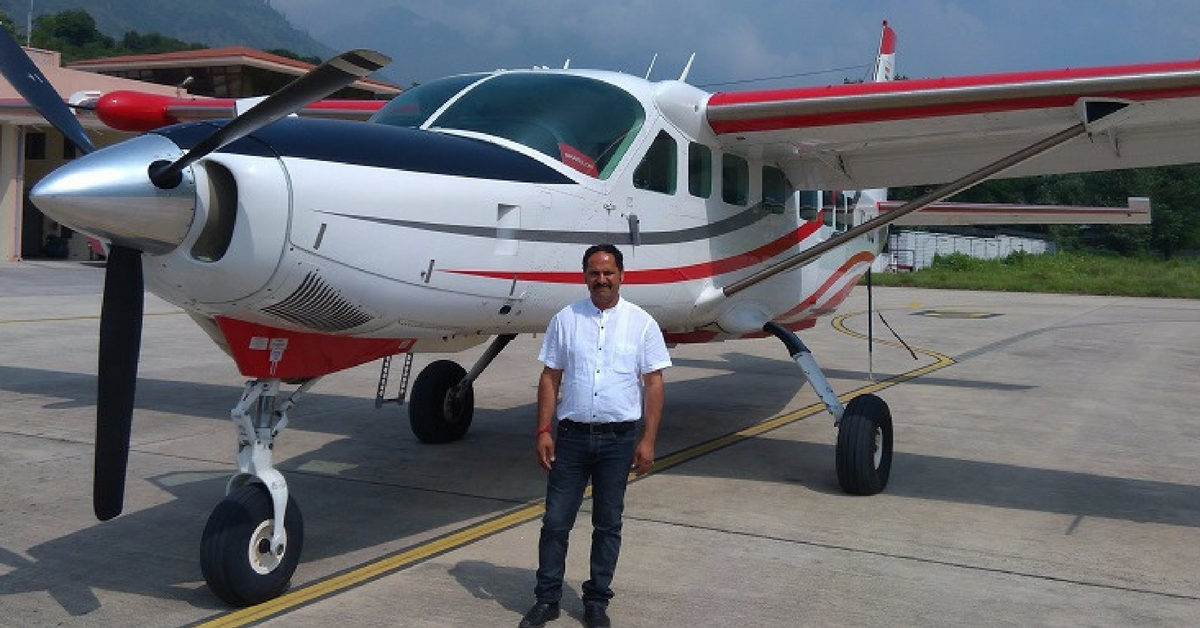 A Farmer's Son with No High-Flying Management Degree Starts an Airline Company in the Himalayas