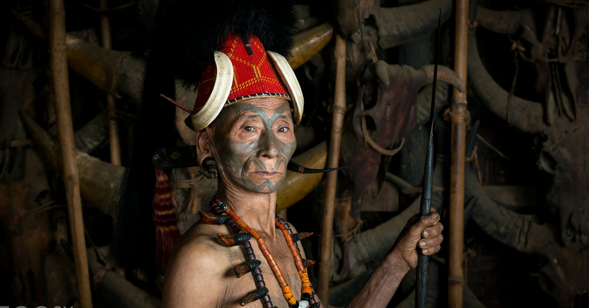 TBI Blogs: Meet the Konyaks of Nagaland, Renowned as Headhunters, and for Their Famous Facial Tattoos