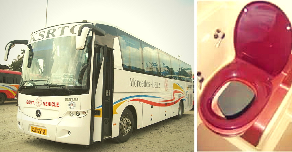 No More Waiting for the next Stop: Long Distance Buses in Karnataka Will Soon Have Bio-Toilets