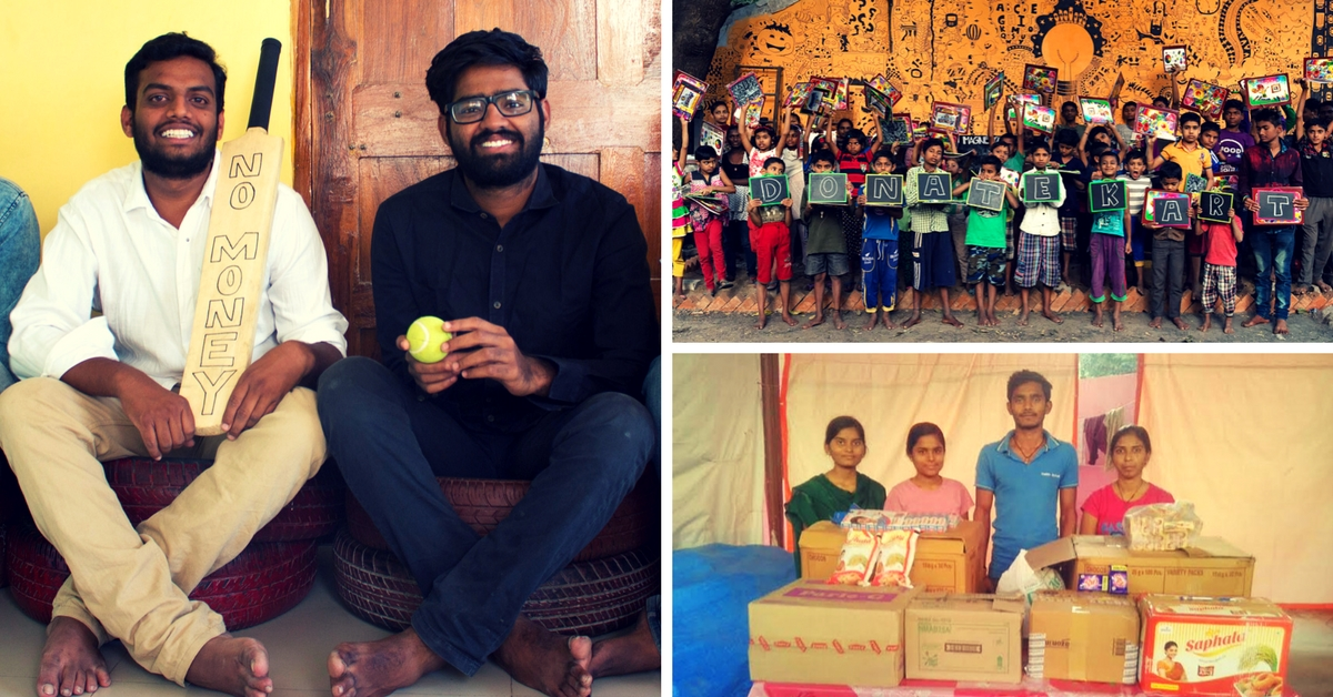 Two Engineers Launch Unique Crowdfunding Platform Which Allows Us to Donate to NGOs in Kind