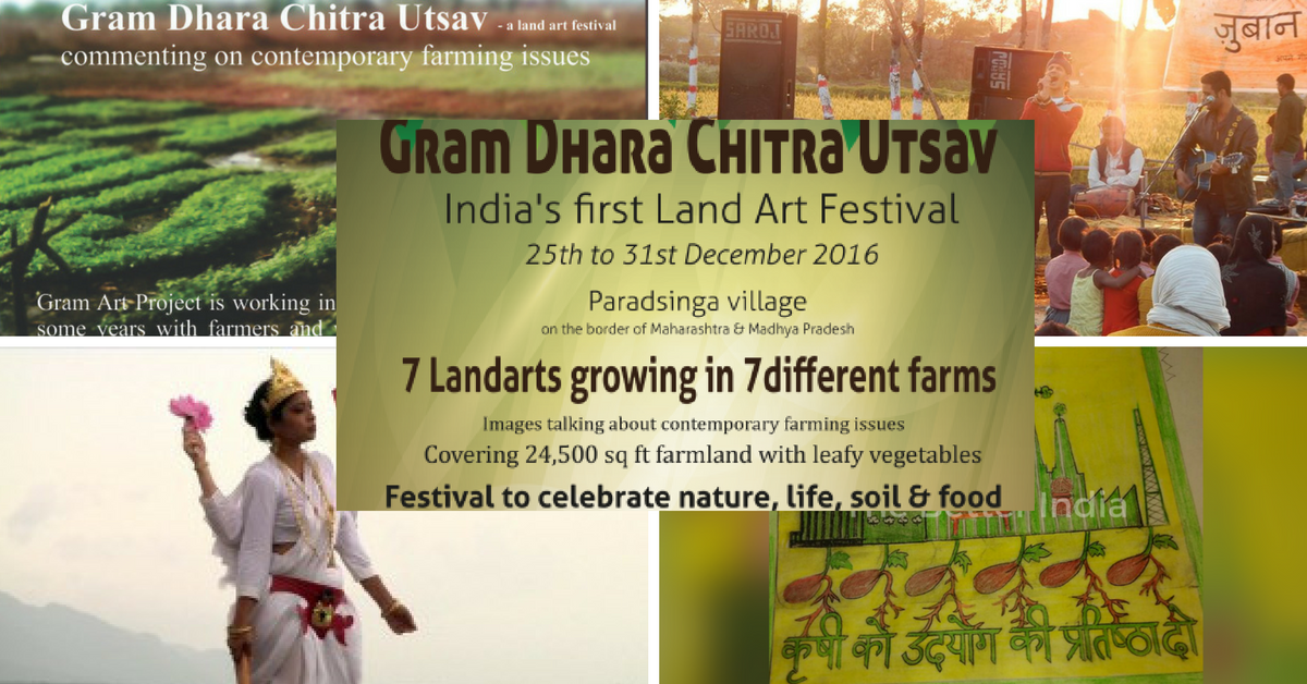 Meet Farmers, Artists, Musicians, Activists and More at India's first Land Art Festival!