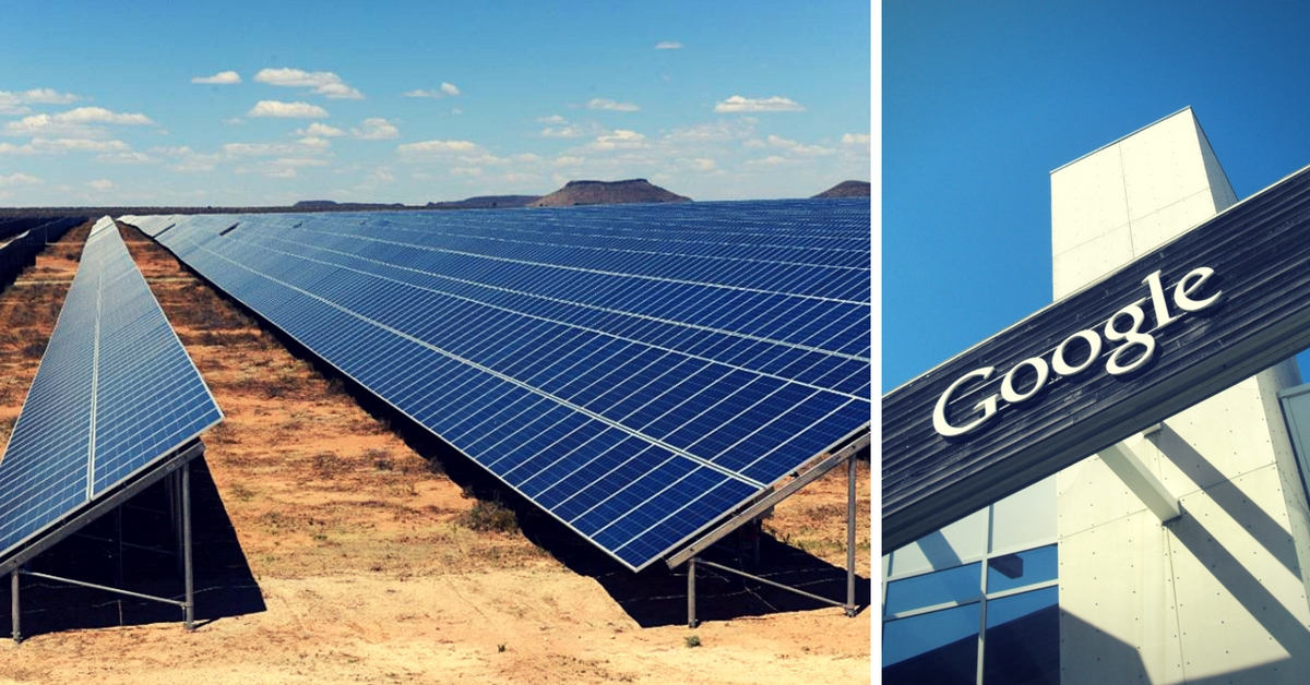 Google Goes Green: The Company Will Run Entirely on Wind & Solar Energy from 2017!
