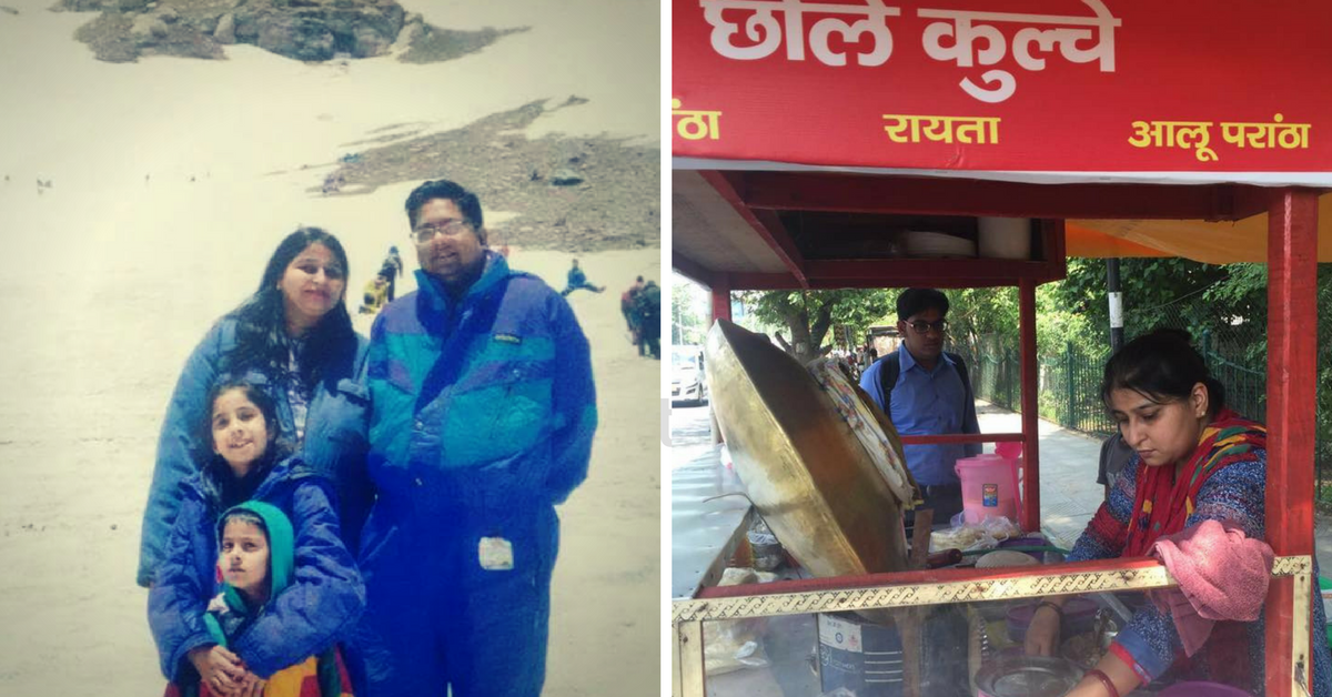 This Teacher Who Started a Chole Kulcha Cart Is Now Helping Other Street Vendors To Go Cashless