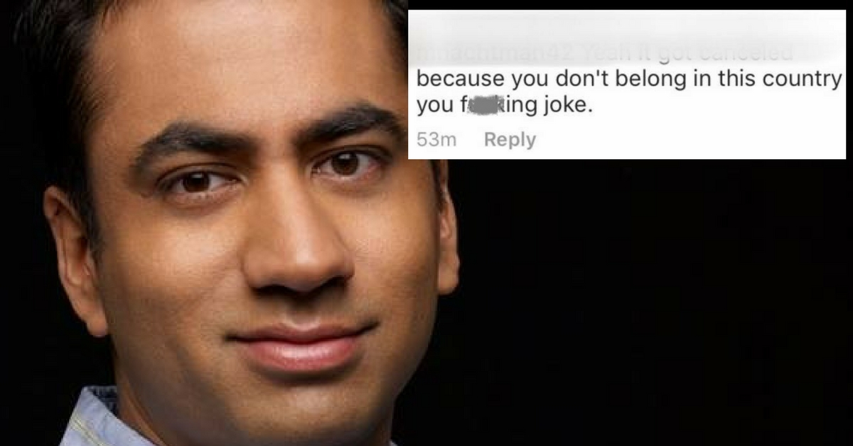 Someone Told Kal Penn He Doesn't Belong in America. He Had the Most Amazing Response.