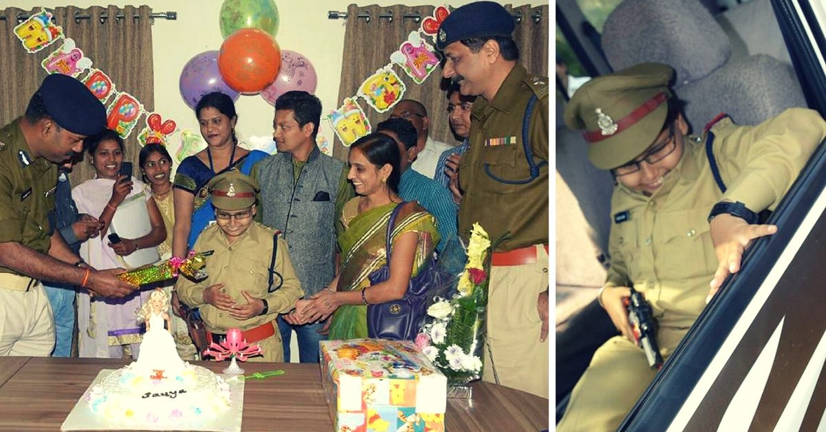 Raipur Police Officers Celebrated an 11-YO Visually Impaired Girl's Birthday Just the Way She Wanted