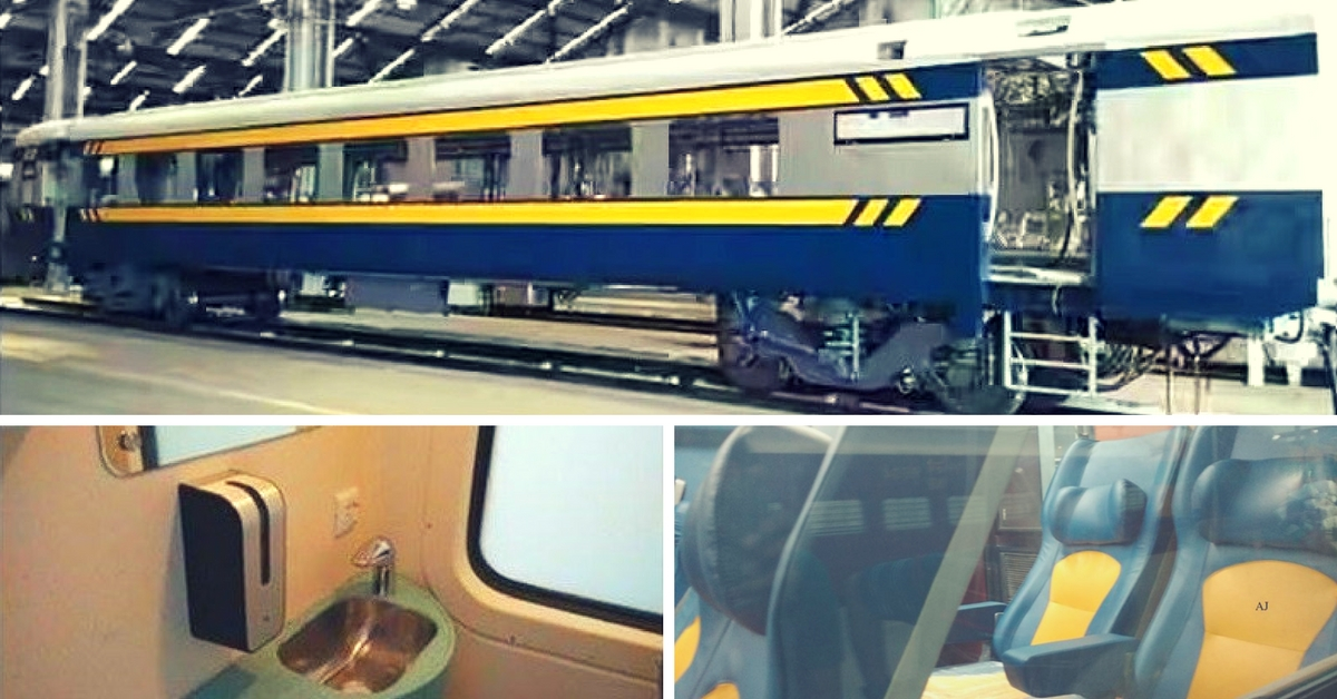 Celebrity Chef's Menu, TV Screens, Bio-Vacuum Toilets – The Tejas Express Is Going to Be Awesome!