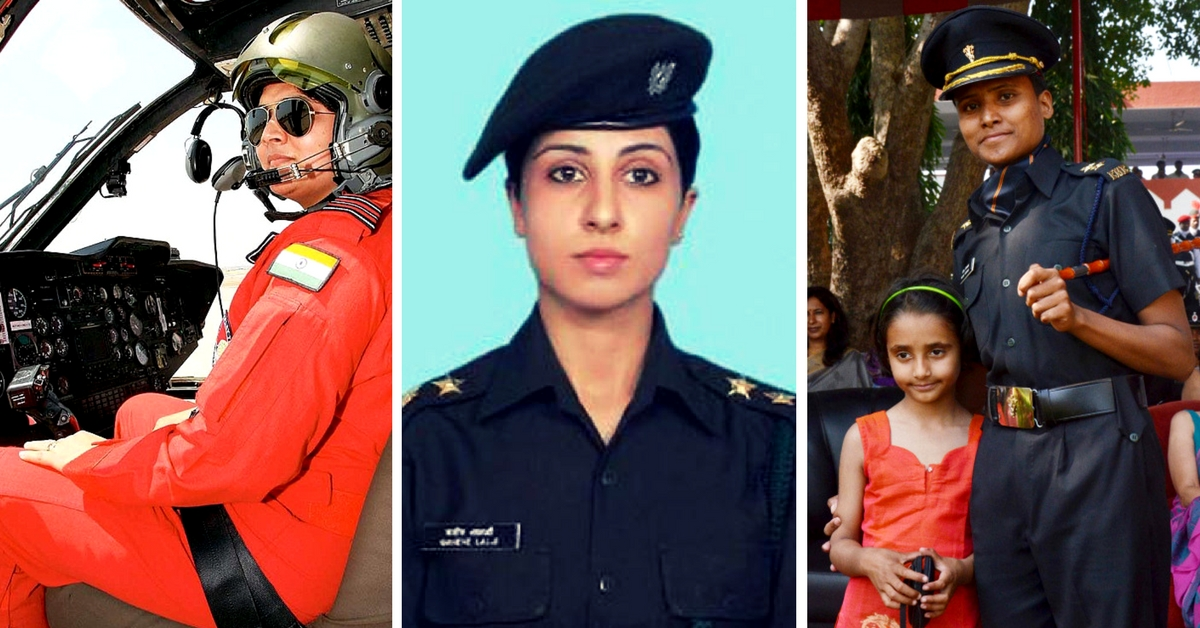 Marching Ahead: 13 Incredibly Brave Women in Indian Armed Forces Who Broke the Glass Ceiling