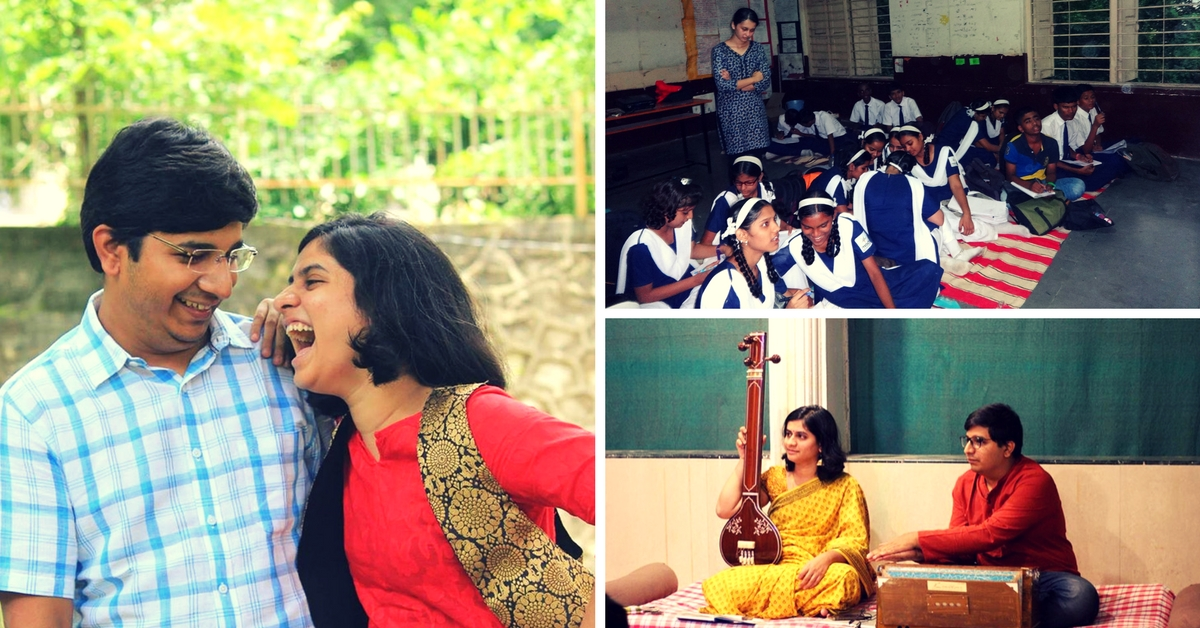 With Degrees in Law and Engineering, This Pune Couple Is Making Classical Music Fun for Kids