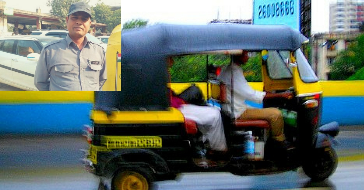 This Noida Auto Driver Waives off the Fare If You Respect Women & Promise to Keep the City Clean