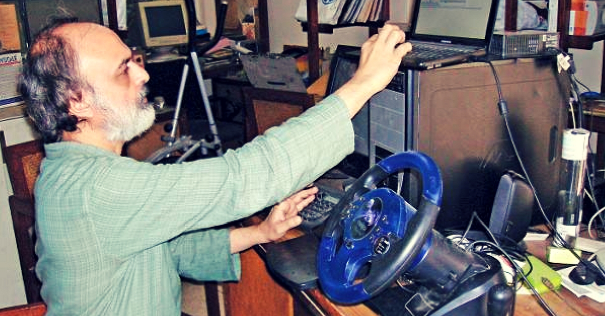 How This 63-Year-Old IIT Alumnus Made It Possible for the Deaf-Blind to Read and Send SMS