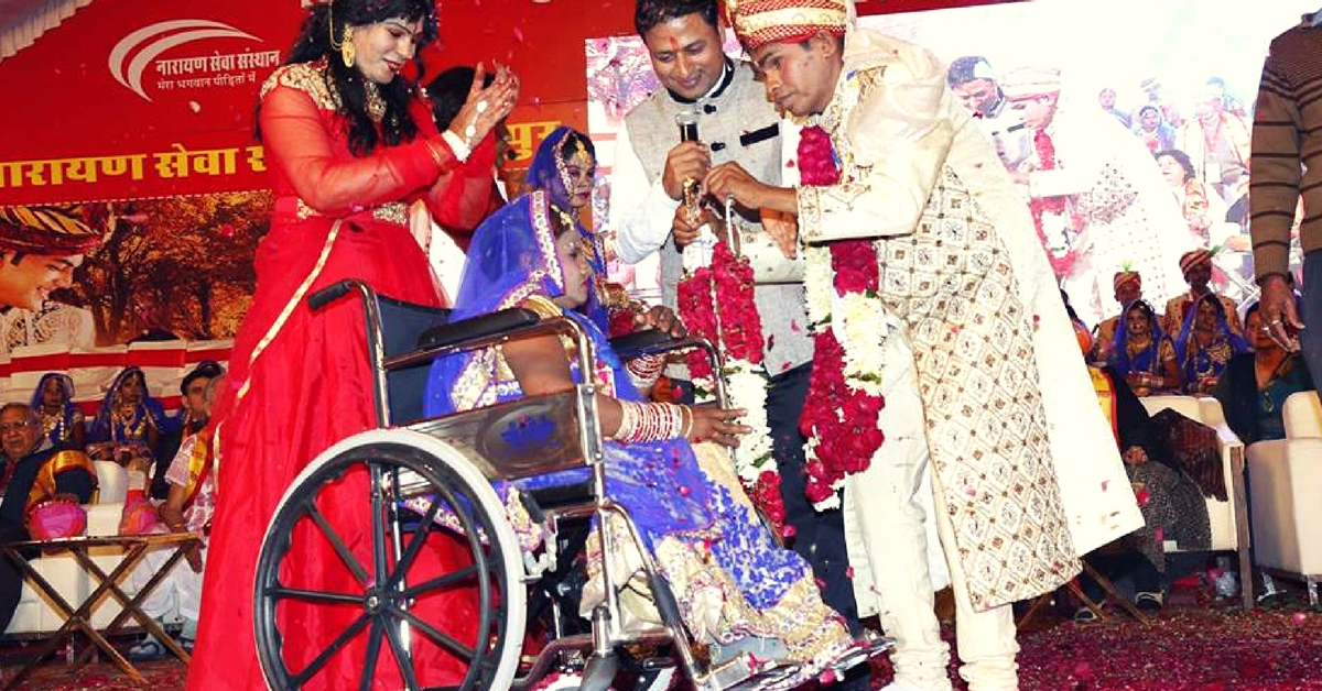 Love Knows No Bounds: Differently Abled Couples Tie the Knot at a Mass Wedding Ceremony in Delhi