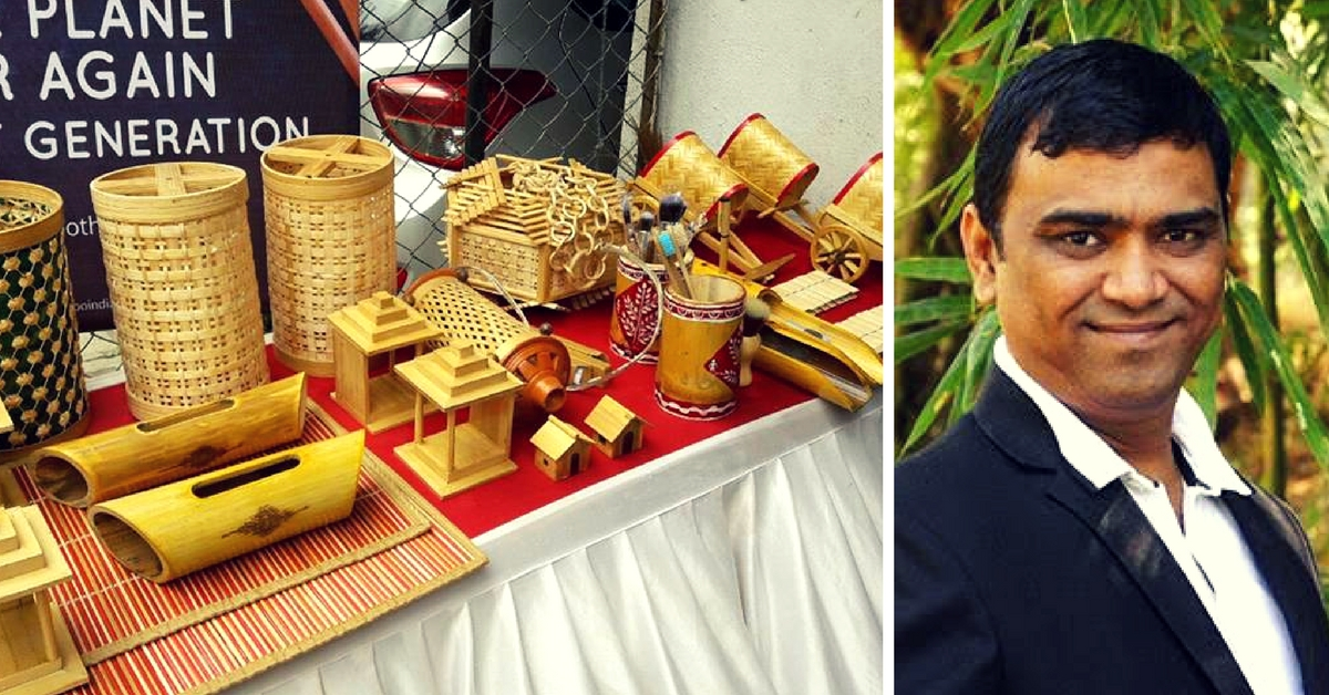 Bamboo's Boon: This Entrepreneur's Mission Is to Reduce Plastic Waste & Make Farmers Independent!