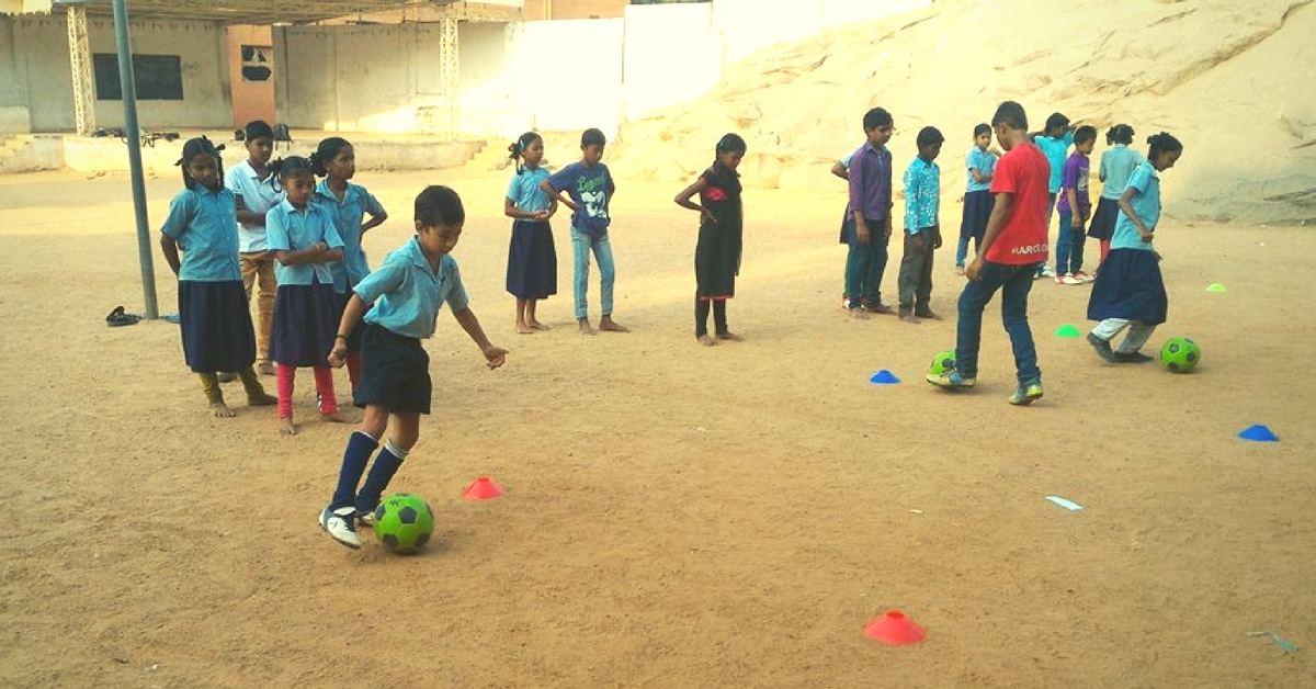 Just for Kicks Levels the Playing Field by Giving Underprivileged Kids a Chance to Shine