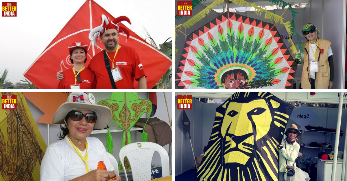 17 Kite Flying Enthusiasts from around the World Share What They Love about India & Uttarayan