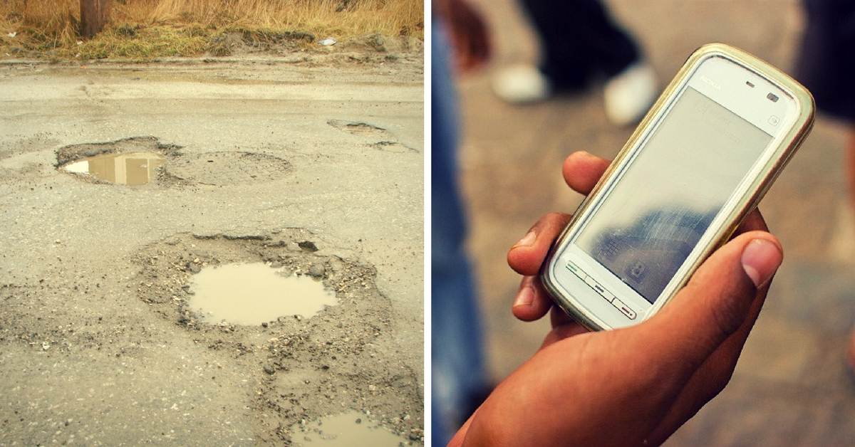 Bangaloreans, Click a Pothole, Send It to BBMP via an App, and Get Paid If They Don't Fix It – SOON!