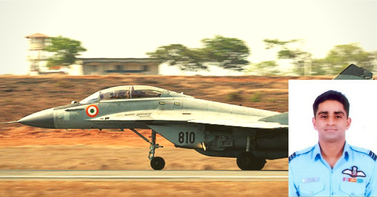 Squadron Leader Rijul Sharma's Feat Earned Him the President's Award, His Story Will Give You the Chills