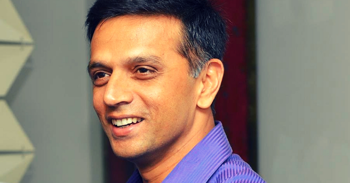 "Rahul Dravid Scores Hearts, Turns down Honorary Doctorate in Order To ""Earn"" It"