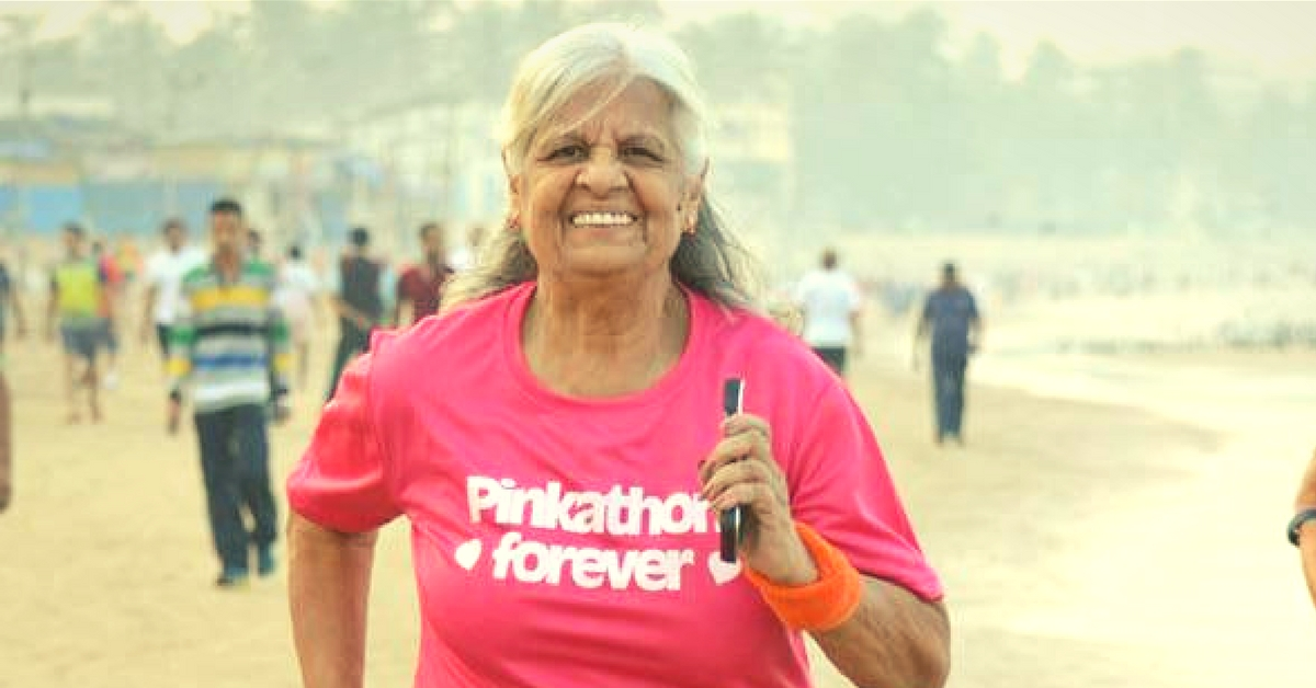 Meet Aunty 72: She Ran 500 Kms in 100 Days, Runs Mumbai Marathon Every Year, Will Inspire You Too!