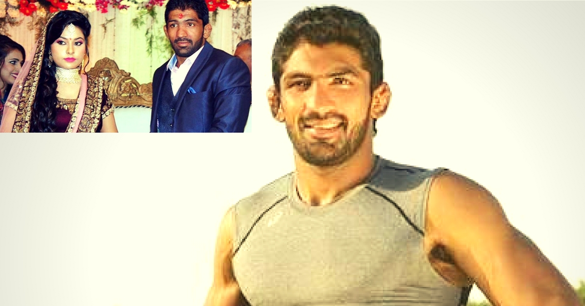 Olympian Wrestler Sets the Gold Standard by Refusing to Accept Dowry & Gifts for His Wedding