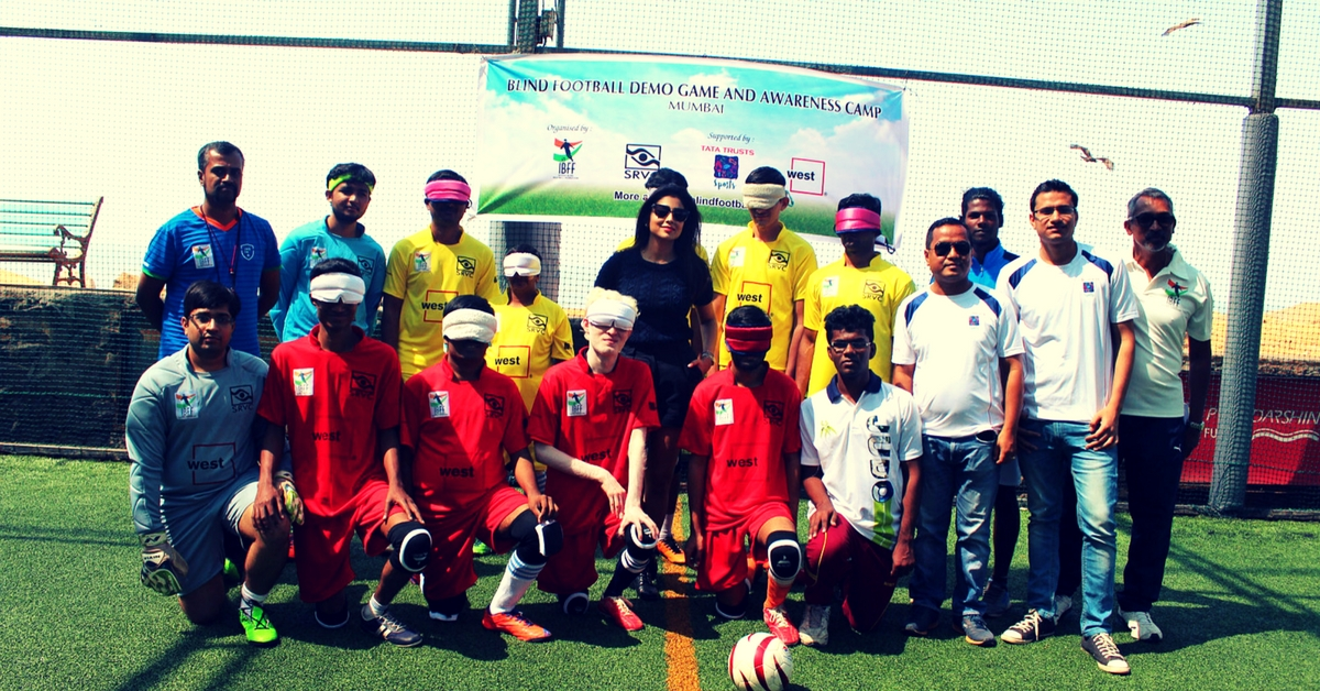 Going for Glory: First Blind Football Camp Kicks off in Mumbai