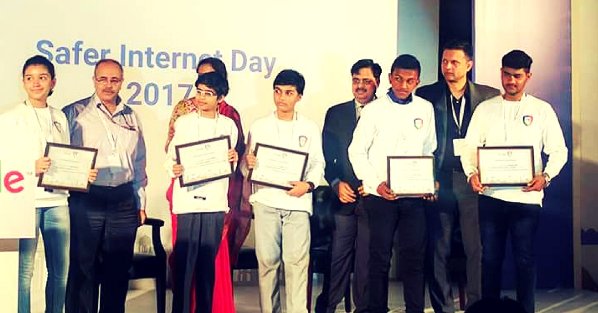 14-Year-Old Noida Student's Cyber-Safety App Wins Google Award