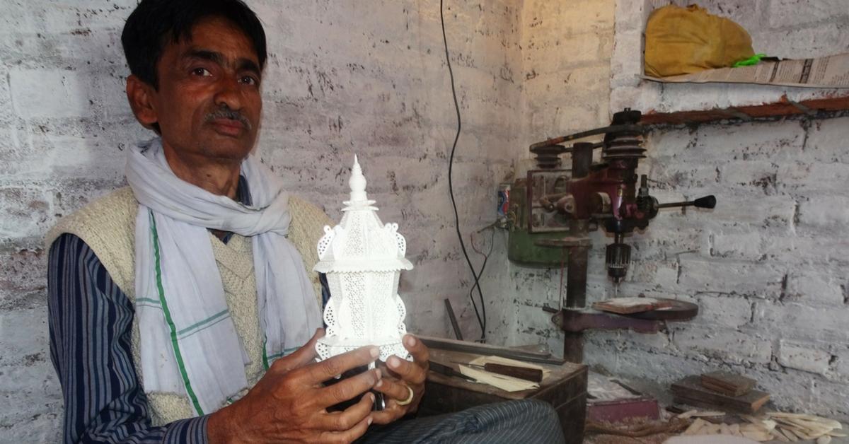 TBI Blogs: Meet the Man Keeping the Prehistoric Art of Bone-Carving Alive in Rural Uttar Pradesh