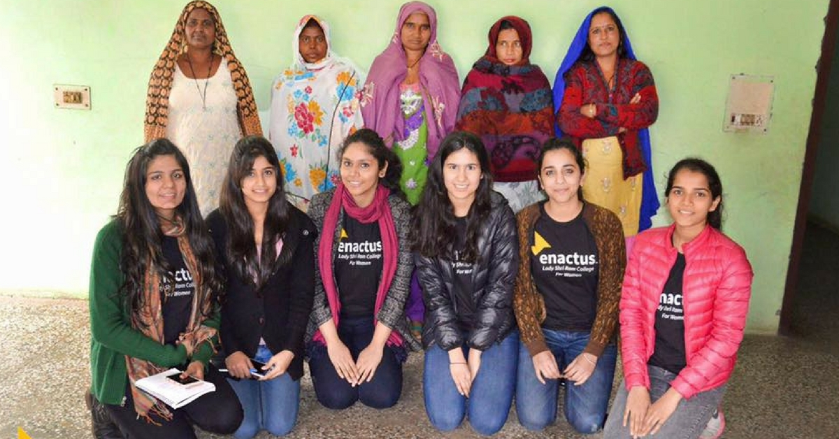 Women in a Haryana Village Are Taking On the World. With a Little Help from Delhi's LSR College