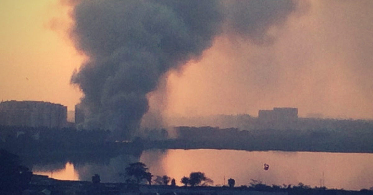 Bellandur Lake Is on Fire and This Bengalurean Is Mobilizing Citizens to Get the Govt to Act!